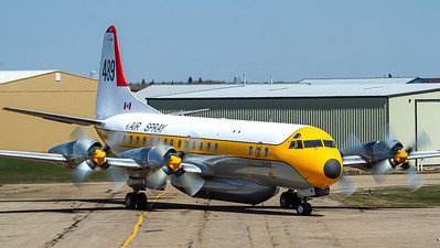 Air Spray / Lockheed L-188A Electra / C-FVFH
