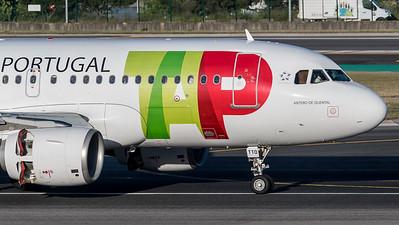 TAP / Airbus A319-111 / CS-TTO