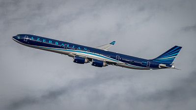 Azerbaijan Governmental / Airbus A340-642 / 4K-AI08