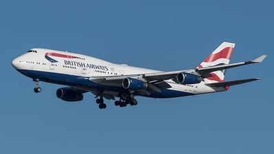 British Airways / Boeing B747-436 / G-CVIX