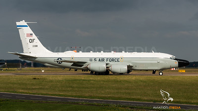 USAF 82RS / Boeing RC-135W Rivet Joint / 62-0138 OF