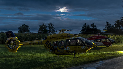 ADAC & DRF / Airbus Helicopters H145 / D-HYAL & D-HDSG / 50 Jahre Livery
