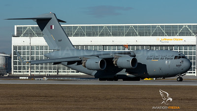 Qatar Emiri Air Force / C-17A Globemaster III / A7-MAP