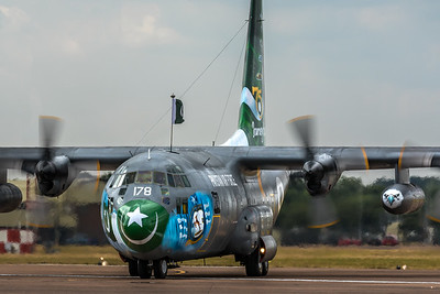Pakistan Air Force C-130 Hercules @ RIAT