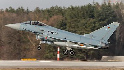 German Air Force WTD-61 / Eurofighter Typhoon / 98+07