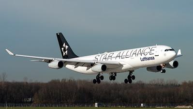 Lufthansa / A340-300 / D-AIGC