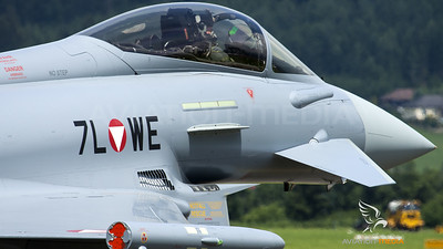 Austrian Air Force / Eurofighter Typhoon / 7L-WE
