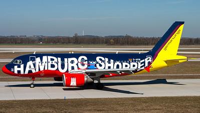 "Germanwings / A319-100 / D-AKNI / ""Hamburg Shopper"""