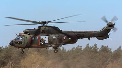 Royal Netherlands Air Force / Aerospatiale AS532U2 Cougar / S-440