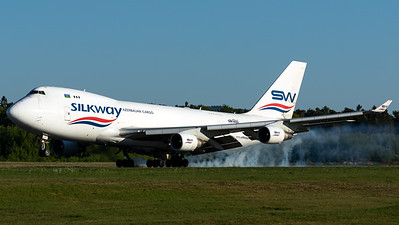 Silk Way West Cargo / B747-400F / VP-BCR