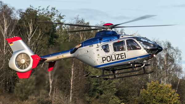 Polizei Sachsen / Airbus Helicopters H135 / D-HSNE