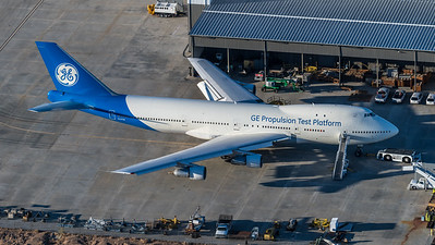 General Electric / Boeing B747-121 / N747GE