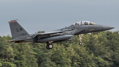 USAF 492 FS / Boeing F-15E Strike Eagle / 92-0364 LN