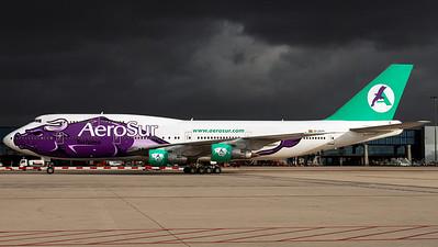 AeroSur / B747-300 / CP-2525