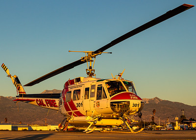 """CalFire / Bell EH-1H """"Huey"""" / N491DF"""
