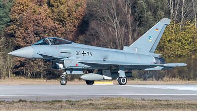 German Air Force JG74 / Eurofighter Typhoon / 30+74