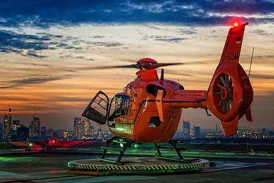 """Luftrettung """"Christoph 2"""" / Eurocopter EC135T2+ / D-HZSM"""