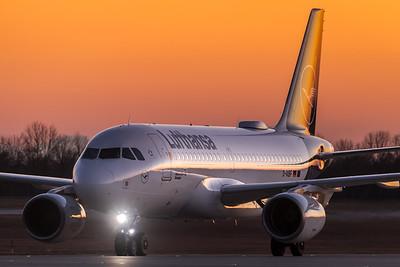 Lufthansa / Airbus A319-112 / D-AIBF