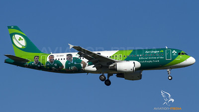 "Aer Lingus / A320-200 / EI-DEO / ""Irish Rugby Team 2015"""