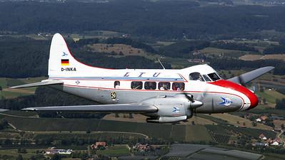 "Meier Motors GmbH ""LTU"" / De Havilland D.H.104 Dove / D-INKA"