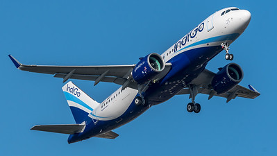 IndiGo / Airbus A320-271N / F-WWIT (to be VT-ITO)