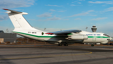 Algerian Air Force / Ilyushin IL-76MD / 7T-WIC