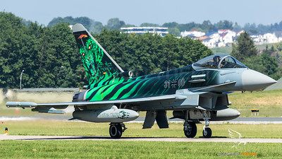 "Luftwaffe - TLG 74 / Eurofighter Typhoon / 31+00 / NTM 2018 ""Ghost Tiger"""