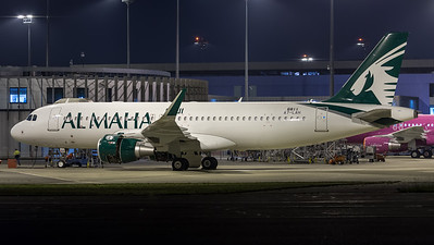 Al Maha / Airbus A320-214WL / A7-LAH