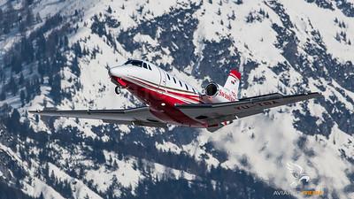 Cessna 560XL Citation YU-TBA @ INN (Innsbruck)