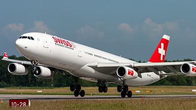 Swiss Intl. / A340-300 / HB-JMD