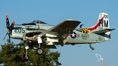 Private (US Navy) / Douglas AD-4N Skyraider / F-AZDP
