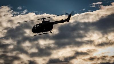 "MBB Bo 105 ""D-HEER"" during Helidays"