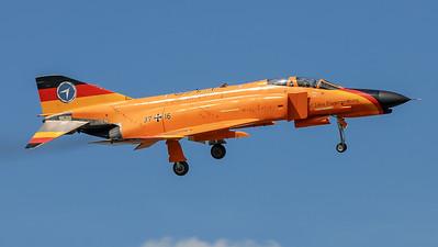 German Air Force WTD-61 / McDonnell Douglas F-4F Phantom / 37+16 / 50 Years Test Livery