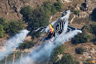 Belgian Air Force F-16 Solo Display @ Sion