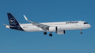 Lufthansa / Airbus A321-271NX / D-AIEF