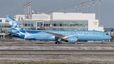 Etihad Airways / Boeing B787-9 Dreamliner / A6-BND / Manchester City Livery