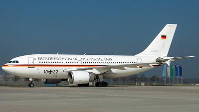 Luftwaffe FBS BMVg / A310-300 / 10+22