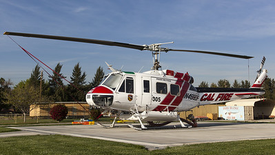 Cal Fire / Bell UH-1H / N488DF
