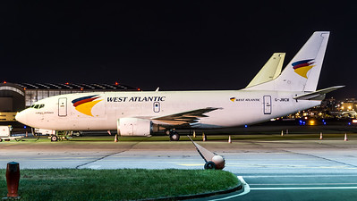 West Atlantic / Boeing B737-3Y0(SF) / G-JMCM
