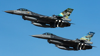 Belgian Air Force / F-16AM Fighting Falcon / FA-124 / 349Sq & 350Sq D-Day