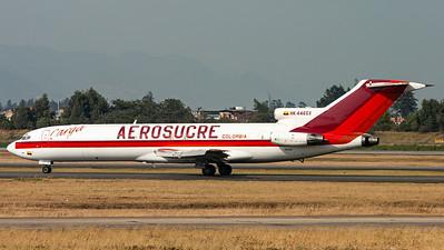 Aerosucre Colombia Carga / B727-200(F) Adv. / HK-4465X