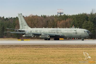 Israeli Air Force B707 at IGS (Manching)