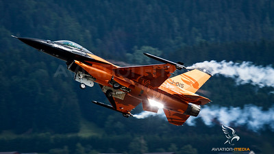 Royal Netherlands Air Force / General Dynamics F-16AM / J-015 / Solo Display