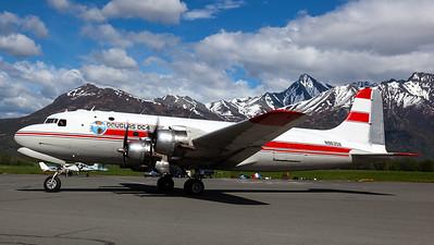 Alaska Air Fuel / Douglas C-54E Skymaster / N96358