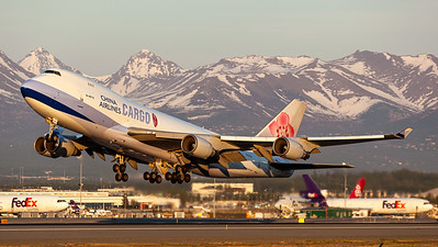 China Airlines Cargo / B747-400F / B-18712