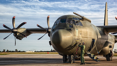 Royal Air Force / Lockheed C-130-C4 Hercules / ZH875