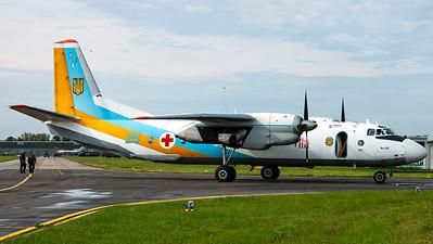 Ukraine Air Force / Antonov An-26 / 25 Blue