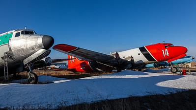 Buffalo Airways / Douglas C-54E-DC Skymaster / C-GBAJ