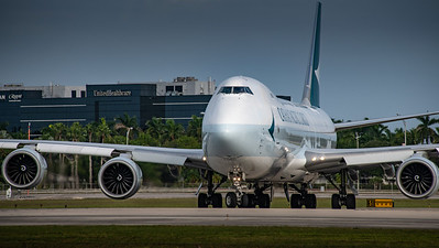 Cathay Pacific | B747-800