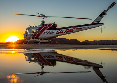 Cal Fire / Bell EH-1H / N491DF